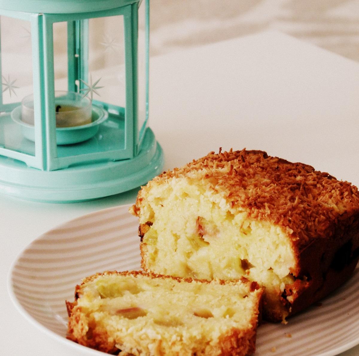Rhabarber-Kokos-Kuchen