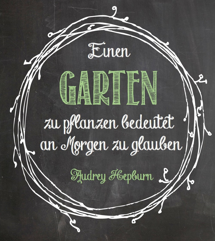 Zitate Garten Gallery Die besten zitate Ideen