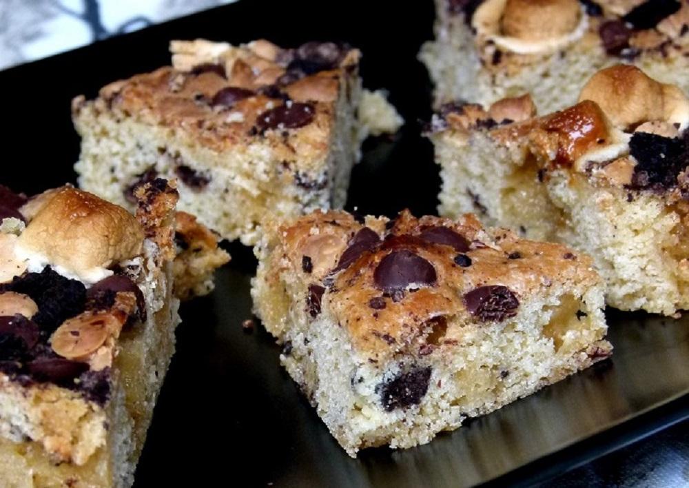 Cookie Bars | Rezept auf Gemischte Tüte Glück