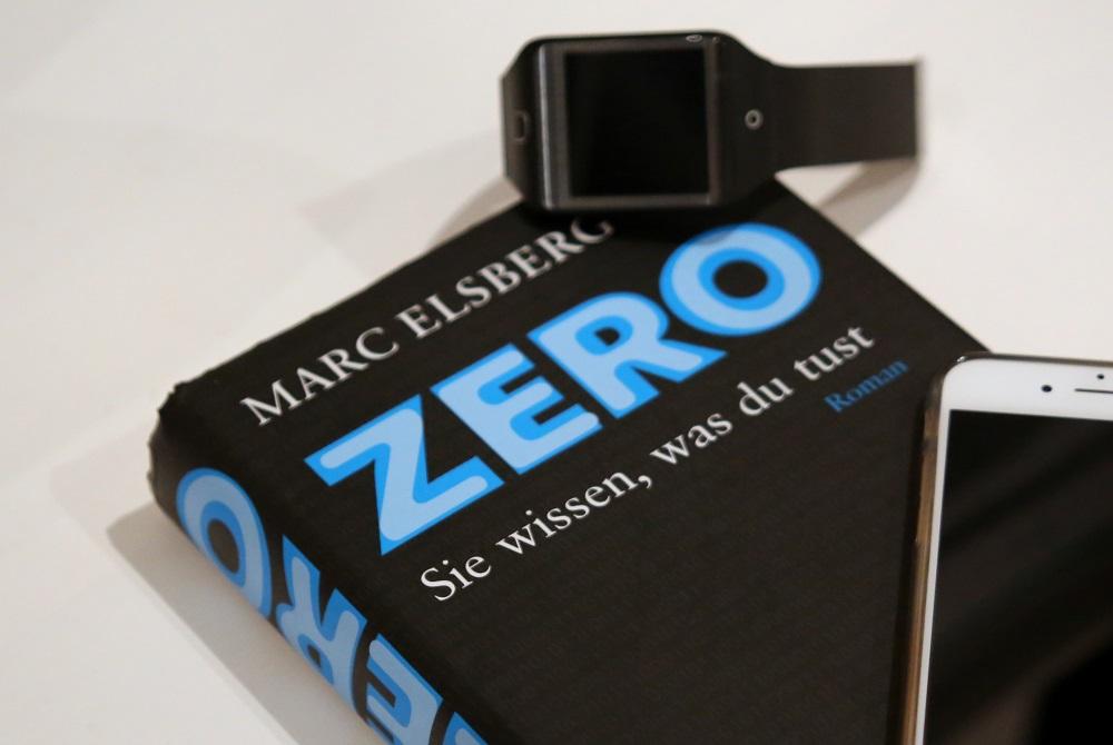 Zero von Marc Elsberg | Rezension auf Gemischte Tüte Glück